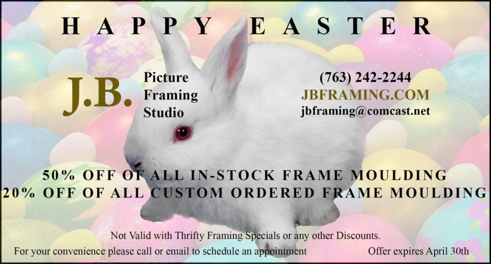 April framing Coupon