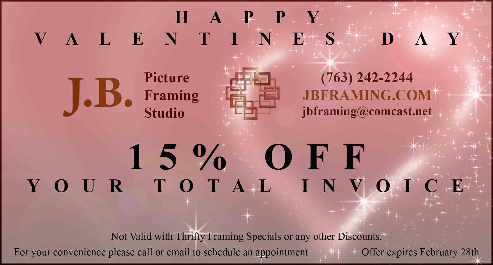 Coupons For Framing Needs